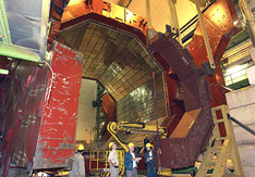 Modification of the L3 magnet doors for the ALICE experiment